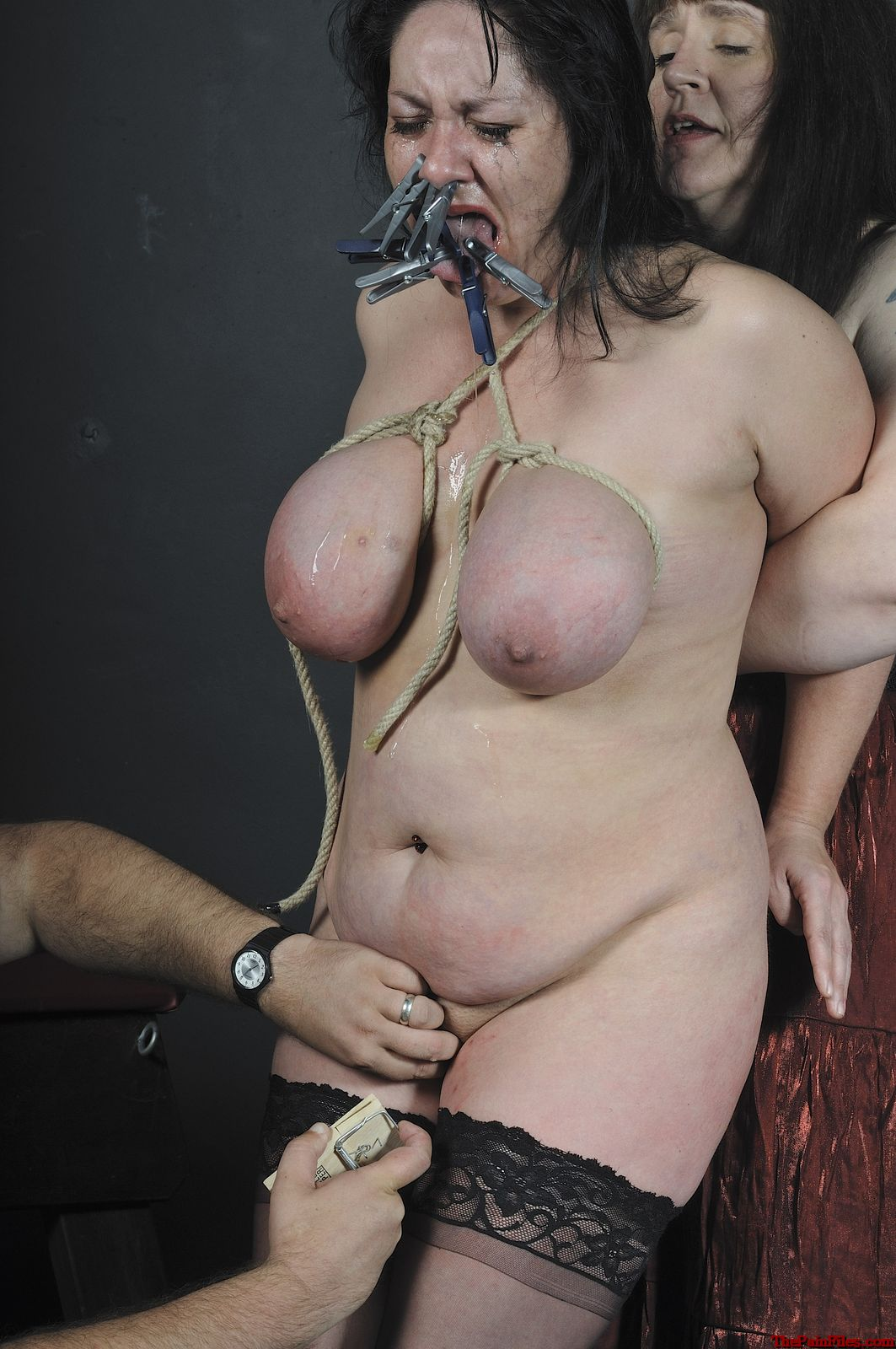 Agree bbw torture bondage can