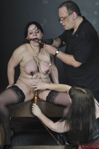 slave girl punished by mistress and master
